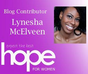 Hope Magazine contributor Lynesha McElveen